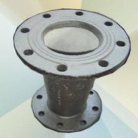 DOUBLE FLANGE REDUCER PIPE FITTING