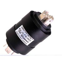wireless slip ring,no mercury,environment-friendly design with 6 wires 380 VAC/DC,300 rpm,jinpat bru