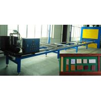 wood grain transfer machine for aluminum door