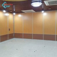 Office soundproof movable outdoor folding movable partition wall thumbnail image