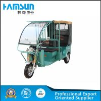 Hansen electric passenger tricycle HSET-02 with 9 seats