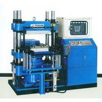 single layer auto-push-model vulcanizing machine