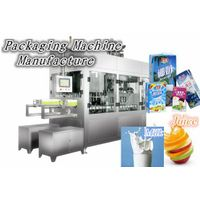Automatic aseptic cartons filling machine line