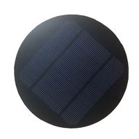 Hovall PET Portable Laminated 5W 5V Round Solar Panel