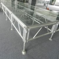 indoor outdoor acrylic platform concert portable stage sale