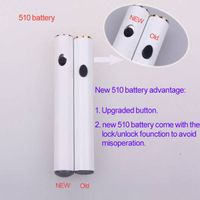 2015 new MU510 slim ecigarette battery with Micro 5 pin passthrough function