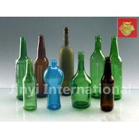 Different Colour Glass Bottles