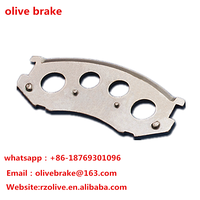 car brake pad backing plate in high performance