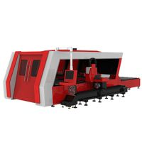 Stainless Steel Fabrication Cutting Machine/Fiber Laser Cutter for Square Tube and Round Tube
