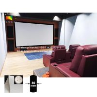 XYScreen Cinema Theater Sound System Sound 4K Perforating Acoustically Transparent Projection Screen