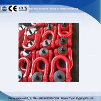 drop forged hardware alloy steel/carbon steel lifting hoist 80G forged swivel ring link swivel hoist