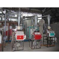 maize flour product line