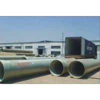 GRP pipe with sand filler inside high strength and low price thumbnail image