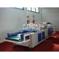 Fully Automatic Double-line T-shirt Bag Making Machine For Printed-color Bag