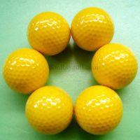 Yellow Range golf ball