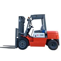 2.5 ton 3 ton loading capacity diesel forklift 3 m 4 m lifting height high quality