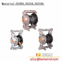 1/2 inch &3/4 inch &1 inch Diaphragm pump made in China