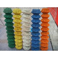 2016 hot sale pvc coated used chain link fence for sale
