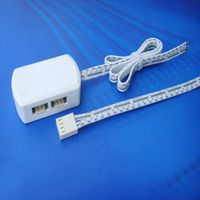 led flexible strip light Fongkit LED RGB Junction Box 4Pin with 4 wires UL certificate