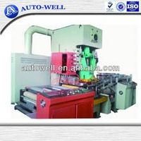 disposable aluminum foil plate machine