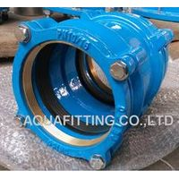 restrainted coupling for PE pipe