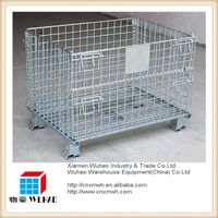 foldable collapsible steel plate storage rack rolling