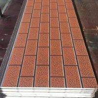 AGM Tianjin Metal PU Sandwich panels for prefab project building