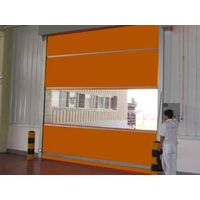 PVC high speed roller up doors