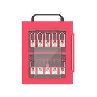 X12 Customized product loto padlock station