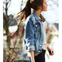 Outdoors Personality New Popular Black Stock Girls Garment Stock Lot Garment Fashion Casual Stocklot thumbnail image