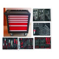 228PCS Heavy Duty Trolley Tool Cabinet Set (FY228A2)