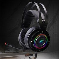 High quality Noise cancelling gaming headphone rgb 7.1 surround sound headsets for sale