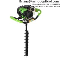52cc Ground Drill Petrol Erdbohrer inkl Bohrer Earth Auger Perfurador De Solo Gasolina Erdbohrer