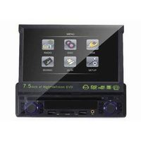 """1 Din Car DVD Player with 7.5"""" LCD TFT display"""