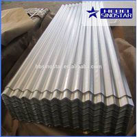 SGCC SGCH A653 Aluzinc Corrugated Steel Roofing Sheets/Plates with Best Price in China