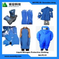 Liquid Nitrogen Protective Clothing