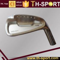Premium Golf Forged Iron Club Heads CNC Machined