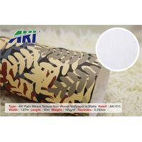 AKI 015 Plain -Weave Texture Non-Woven Wallpaper in Matte