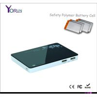 Thin Polymer Portable Mobile power bank charger 5000mAh for iPad/iPhone(YR050)