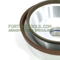 flaring cup diamond grinding wheel for carbide drills, cutter and countersinks thumbnail image