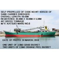 (SELF-PROPELLED) CODE NO. WT-429SCD OF SAND CARRIER (DREDGER)