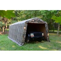 WEATHERFAST ALL-SEASON PORTABLE SHELTER WITH CAMO FABRIC 10'X20'X8'