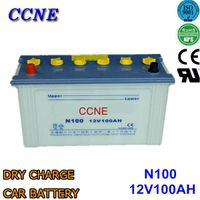 N100 95E41R 70027 hybrid alkaline korean dry charge 12v 100ah car battery