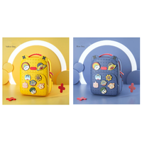 NEW 2020 CE/RoHs Anti-Dirty EVA Backpack Easy to Clean,Kids Bag with Red/Blue/Yellow/Pink
