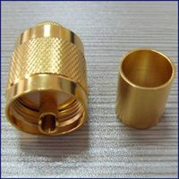 uhf rf coaxial connector/uhf rf connector to n rf connector