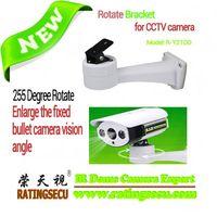 255 Degrees CCTV Camera wall mount Rotating Bracket