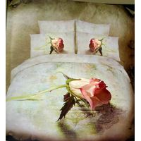 100%cotton bedding set with 5 pcs