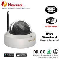 Security Camera 1080P FHD CCTV Wifi Onvif Half Dome IP Camera Anti-Vandal and Anti-Break Feature