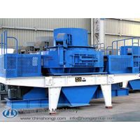 Realible quality vertical shaft impact crusher sand making processing plant