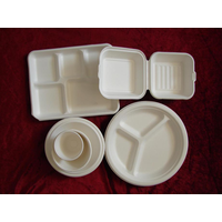 paper mould tabkeware(Sugarcane Products)